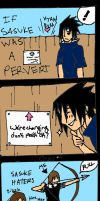 If Sasuke Was A Pervert by ImGaarasNinja