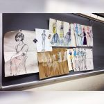 model drawing presentation by artsyemily