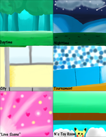 Background Samples on Corel by Warped-Dragonfly