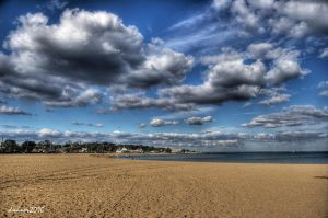 Williamstown beach hdr by DanielleMiner