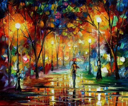 Unreal scenes by Leonid Afremov by Leonidafremov