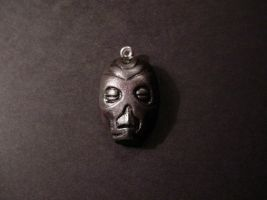 Dragon Priest Mask Pendant by Sevvie
