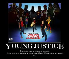 Young Justice Demotivational by jswv