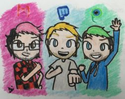 FABULOUS YOUTUBERS!!! by MaiMaiLim