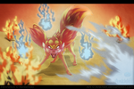 Fennekin used Will-O-Wisp! by Ankhlet