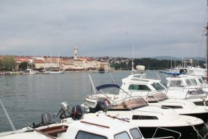 view in harbour by ingeline-art