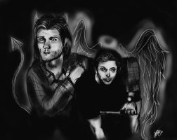 The Choice is yours, Brothers - Supernatural. by Laurenthebumblebee