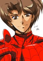 Spiders and Magic: Peter Parker by Jamal2504