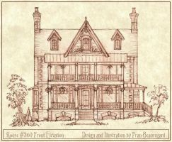 House 360 Front Elevation by Built4ever