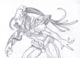 Protoss sketch by Firbrethil
