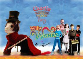 CUSTOMS PONYS - Willy Wonka by D3iv