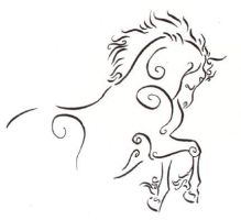 Another Ink Horse by Utlah