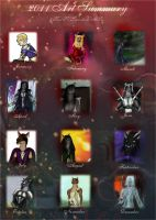 2011 Art Summary by GhostOfChristmasLost