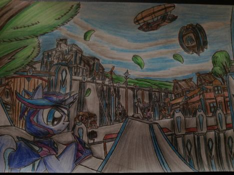 MLP: Loonnight in the City of the Strongholds by Paladin360