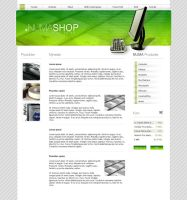 Webdesign - NumaSHOP by Noergaard