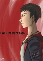 Dante: I will protect them by Vega-Highwell