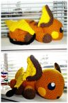 Raichu Collage by ArtisansShadow