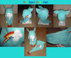 Rainbow Dash Hat by Bunnygirl2190