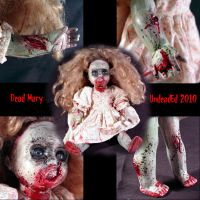 Rot Tot Dead Mary Zombie DOLL by Undead-Art