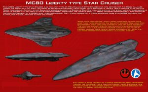 MC80 Liberty Type star cruiser ortho [Update] by unusualsuspex