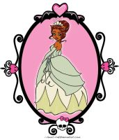 MH: Clawdeen as Tiana by I-heart-Link