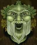 Oak King Green Man by LunaLoveBunny