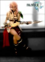 Lightning - Final Fantasy XIII by MuzzaThePerv
