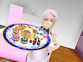 MMD Sweet platter download by RikuxRoxi
