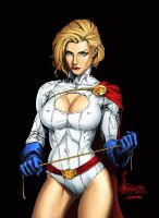 Power Girl color job. by JamesDenton