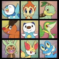 Pokemon Bookmarks - Batch 2 by Teskine