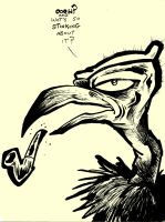 Vincent the vulture by Jwbalsly