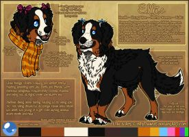 .: Ellie Official Sheet Ref 2015 :. by SillyTheWolf