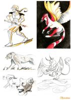 sketchdump by thereina