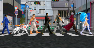 Felicia and Friends: Abbey Road by NekoHybrid