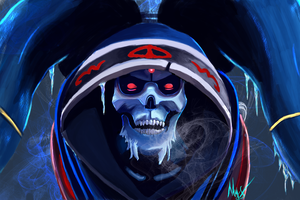 Dead Winter dota 2 Lich by iloveBaya