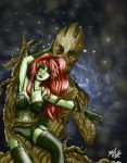 Ivy and Groot Romance by MugetsuDragon