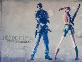 RE Ope. Raccoon City wallpaper by Claire-Wesker1
