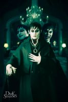 Barnabas Dark Shadows faces by levydesign