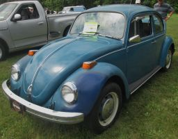 (1973) Volkswagen Type 1 'Beetle' by auroraTerra