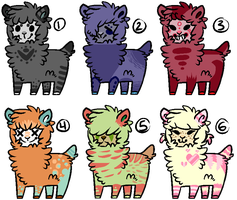 .: Alpaca Adopts //CLOSED// :. by brassboy