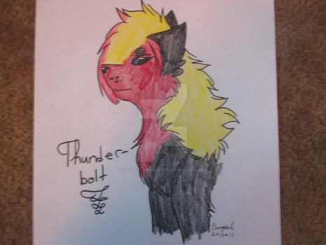 Thunderbolt - (FA) by DarkWolfAngelXx