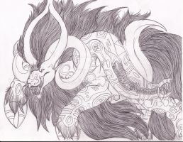 LoZ: Demon Beast Calev by ToxicCreed