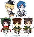 Attack on Titan and Magi Chibis by Xai0