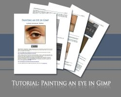 Painting an eye in Gimp by TheShock