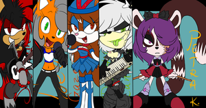 The Band by HikariDono08