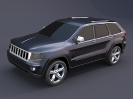 Jeep grand cherokee 2011 by koleos33