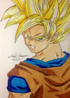Fear the Super Saiyan by gokujr96