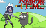 another OC except this time its Adventure Time by Tui-La347