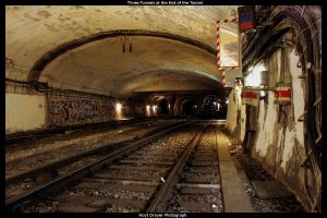 Tunnels at End of the Tunnel by HerrDrayer
