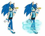 Julia the hedgehog new reference by AzurBlueStar
